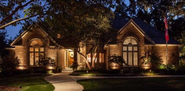 Residential Outdoor Lighting by Palumbo's Landscape Maintenace